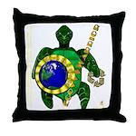 Eco-Warrior Throw Pillow