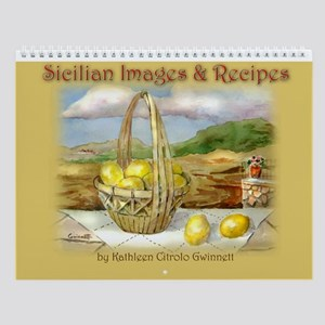 Sicilian Recipe Andmy Art Wall Calendar