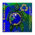 EcoWarrior Tile Coaster