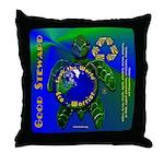 EcoWarrior Throw Pillow