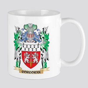 Corcoran Coat of Arms - Family Crest Mugs