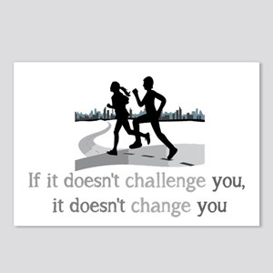 Doesn't Challenge, Doesn't change Inspirational Po