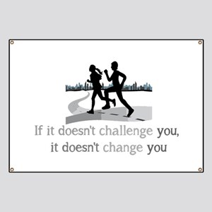 Doesn't Challenge, Doesn't change Inspirational Ba