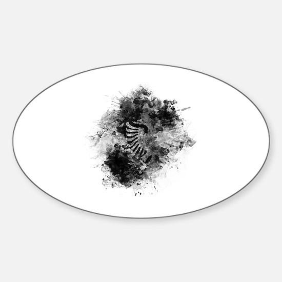 Cute Albanian culture Sticker (Oval)