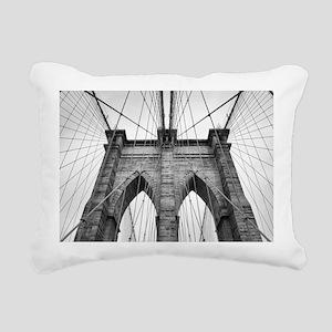 Brooklyn Bridge New York Rectangular Canvas Pillow