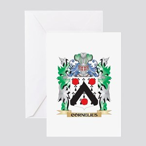 Cornelius Coat of Arms - Family Cre Greeting Cards