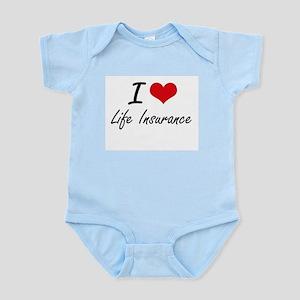 I Love Life Insurance Body Suit