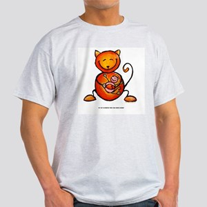 my cat is smarter than your h Light T-Shirt