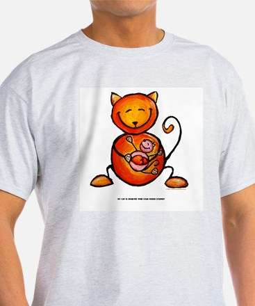 my cat is smarter than your h T-Shirt