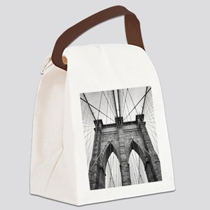 Brooklyn Bridge New York City clo Canvas Lunch Bag