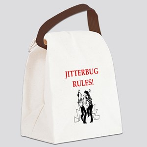 jitterbug Canvas Lunch Bag