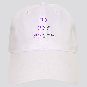 Do Not Touch in Braille (Purple) Cap