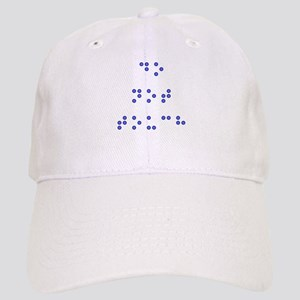 Do Not Touch in Braille (Blue) Cap