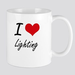 I Love Lighting Mugs