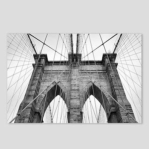 Brooklyn Bridge New York Postcards (Package of 8)