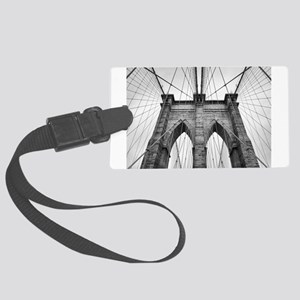 Brooklyn Bridge New York City cl Large Luggage Tag