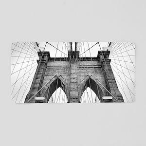 Brooklyn Bridge New York Ci Aluminum License Plate