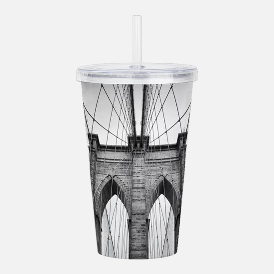Brooklyn Bridge New Yo Acrylic Double-wall Tumbler