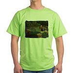 Wildflower Garden Green T-Shirt