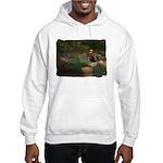 Wildflower Garden Hooded Sweatshirt