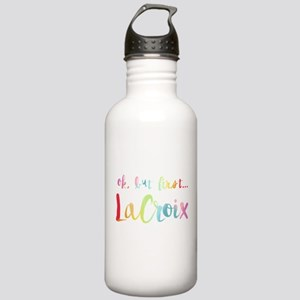 But First LaCroix Stainless Water Bottle 1.0L