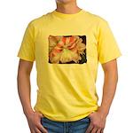 Garden View Yellow T-Shirt
