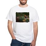 Wildflower Garden White T-Shirt