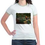 Wildflower Garden Jr. Ringer T-Shirt
