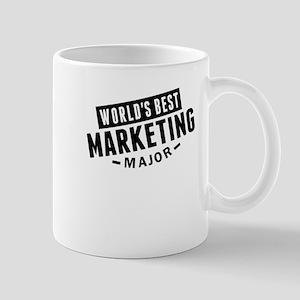 Worlds Best Marketing Major Mugs