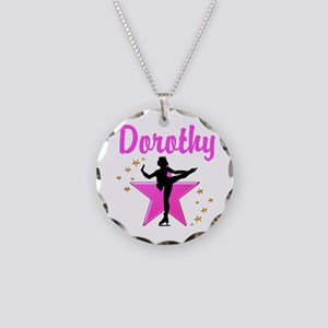 AWESOME SKATER Necklace Circle Charm