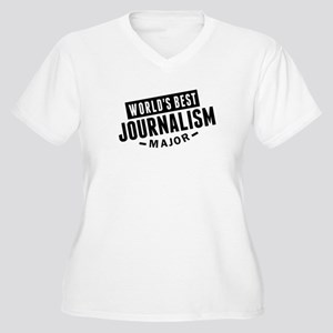 Worlds Best Journalism Major Plus Size T-Shirt