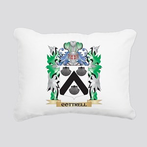 Cottrell Coat of Arms - Rectangular Canvas Pillow