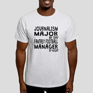 Journalism Major Fantasy Football T-Shirt