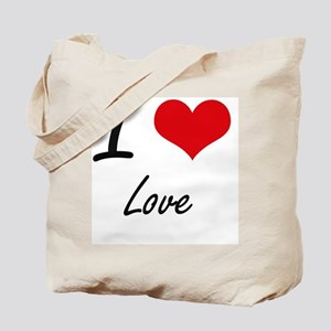 I Love Love Tote Bag