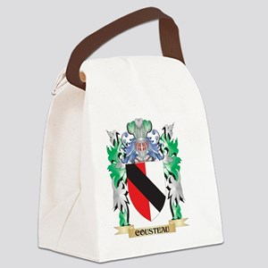 Cousteau Coat of Arms - Family Cr Canvas Lunch Bag