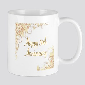 HAPPY 50TH ANNIVERSARY Mugs