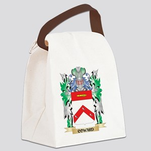 Coward Coat of Arms - Family Cres Canvas Lunch Bag