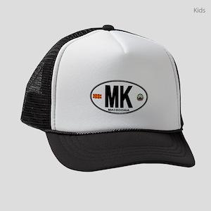 mk-oval Kids Trucker hat