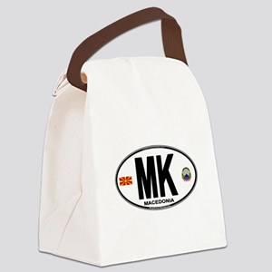mk-oval Canvas Lunch Bag