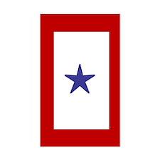Military service Rectangle Sticker