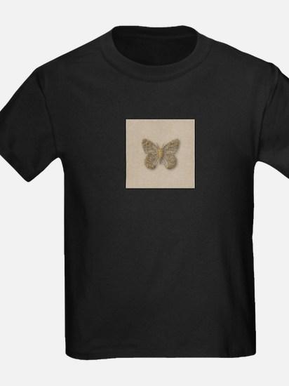Cute Birthday Butterfly Monogram T