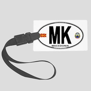 mk-oval Large Luggage Tag