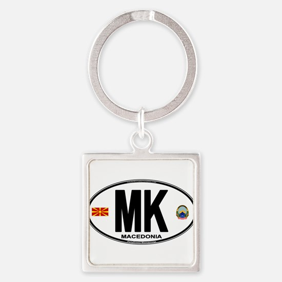 mk-oval Keychains
