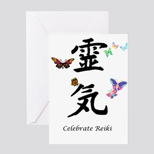 Celebrate Reiki! Greeting Card