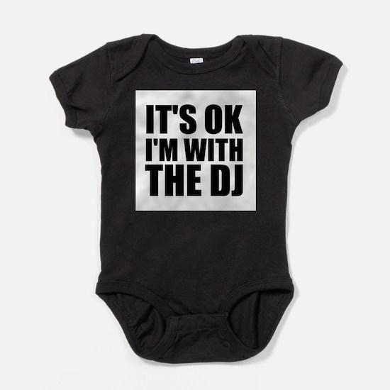 Cute Club music Baby Bodysuit