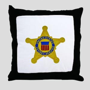 US FEDERAL AGENCY - SECRET SERVICE Throw Pillow