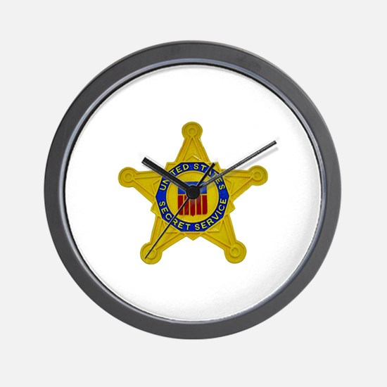 US FEDERAL AGENCY - SECRET SERVICE Wall Clock
