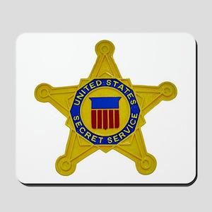 US FEDERAL AGENCY - SECRET SERVICE Mousepad