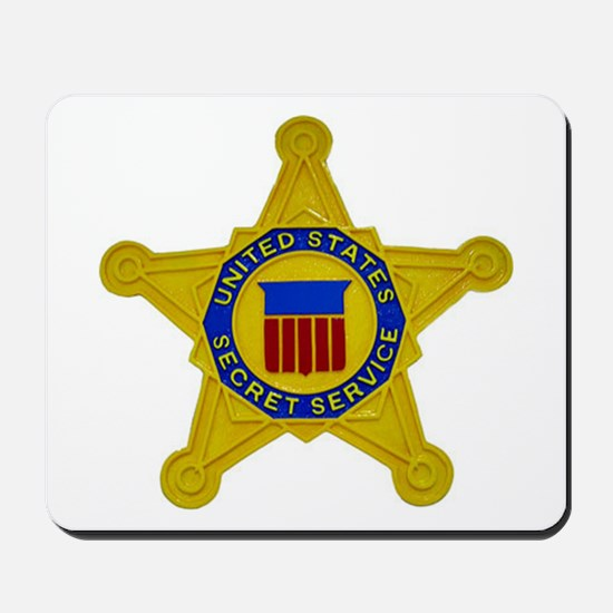 US FEDERAL AGENCY - SECRET SERVICE Mousepad