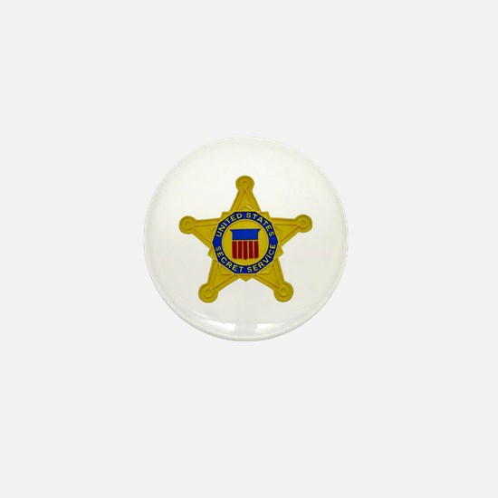 US FEDERAL AGENCY - SECRET SERVICE Mini Button